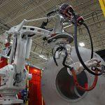 abb ovc robot welding