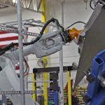 robot eoat brake press machine tending