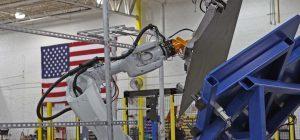 Robotic Brake Press Tending