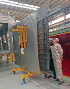 Laser Welding System for Rail Car Panels