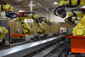 Automated Casting Finishing Production Line